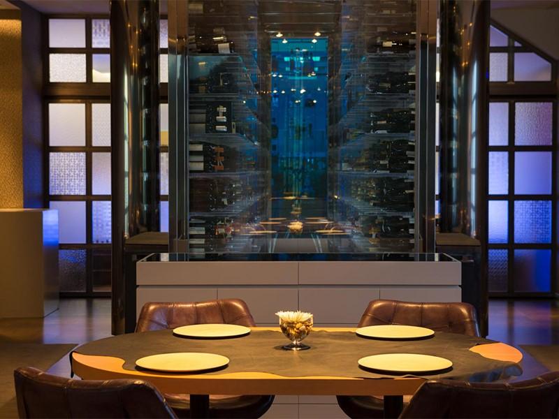 La cave à vin de l'hôtel Penha Longa Resort