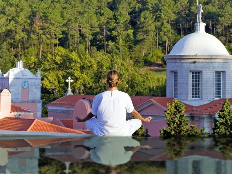 Méditation à l'hôtel Penha Longa au Portugal