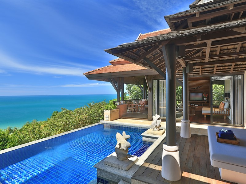 Hillside Ocean View Private Pool Villa One Bedroom