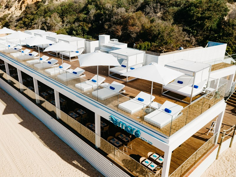 Maré, le beachclub aux influences de la mer