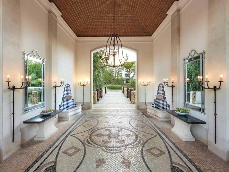 Le restaurant Jardim Colonial