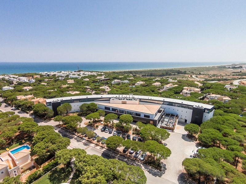 Vue du Praia Verde, situé dans une des régions les plus intactes de l'Algarve