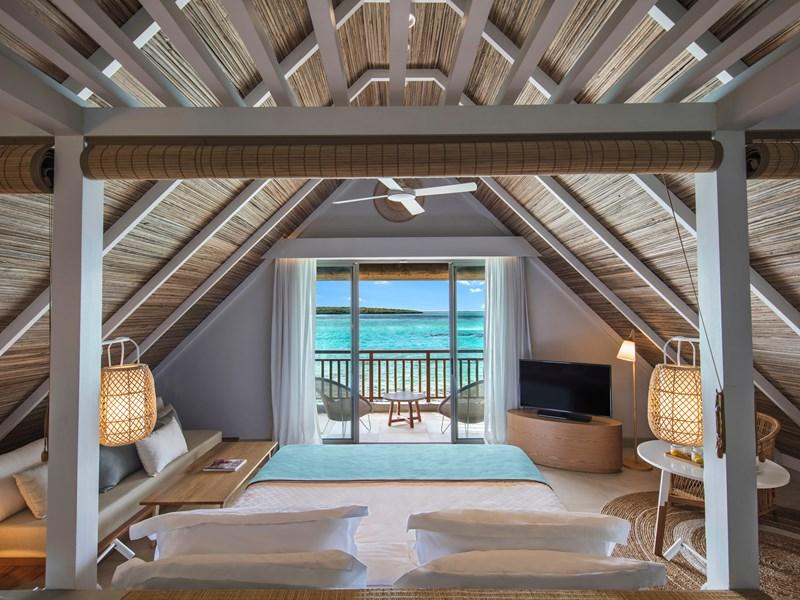 Relaxez-vous face à la mer, une chambre en quête de bien-être