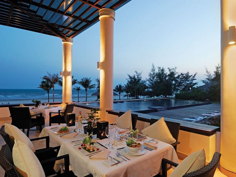 Restaurant Terrace de l'hôtel Princess D'An Nam situé à Phan Thiet