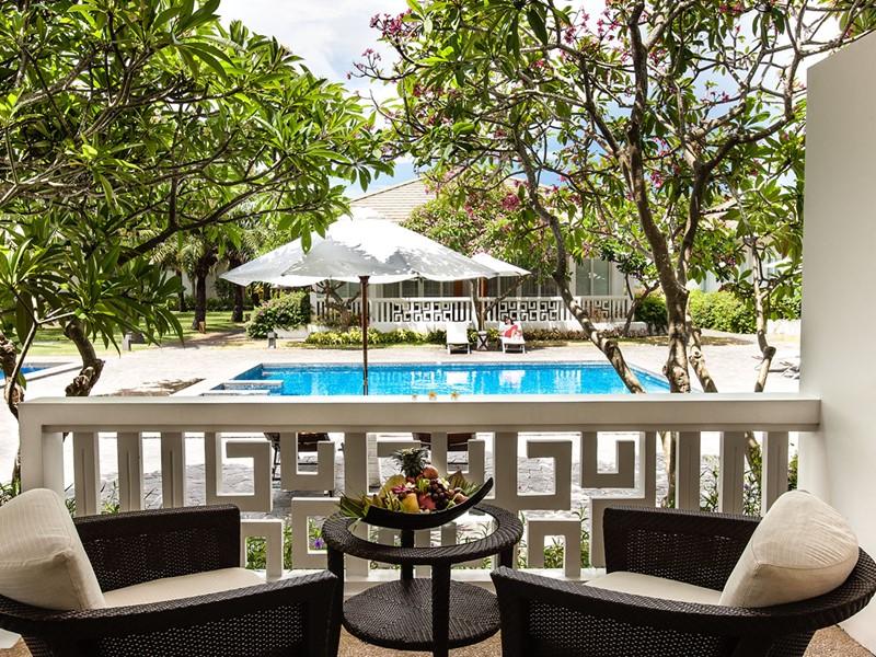 Exterieur de la Mandarin Suite de l'hôtel Princess D'An Nam à Phan Thiet