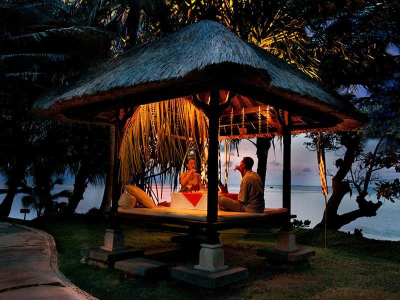 Dîner romantique à l'hôtel Puri Bagus Lovina