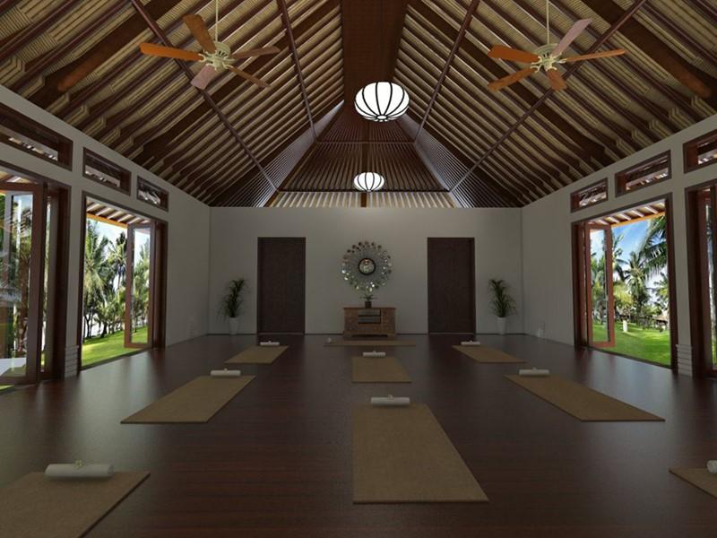 Salle de yoga au Puri Bagus Lovina