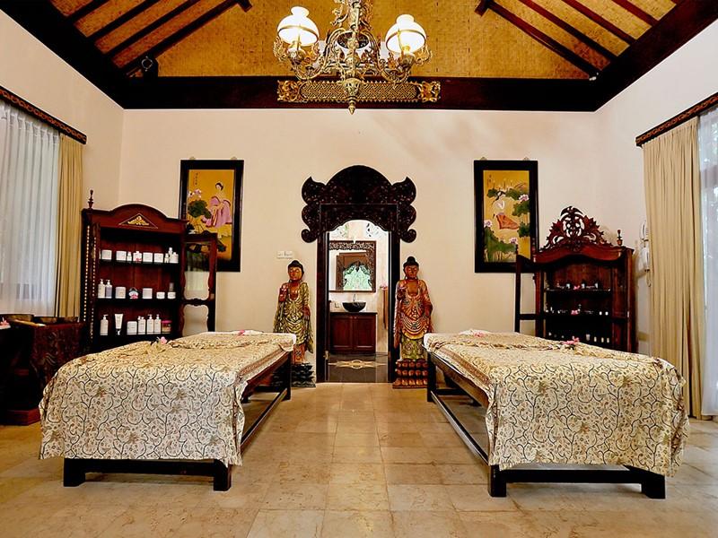Le spa de l'hôtel 4 étoiles du Puri Mas Resort