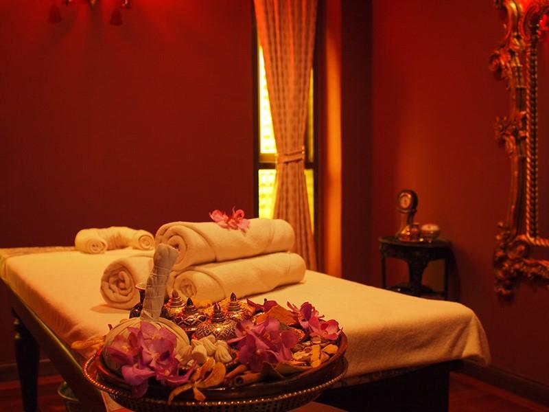 Le spa de l'hôtel 4 étoiles Puripunn à Chiang Mai