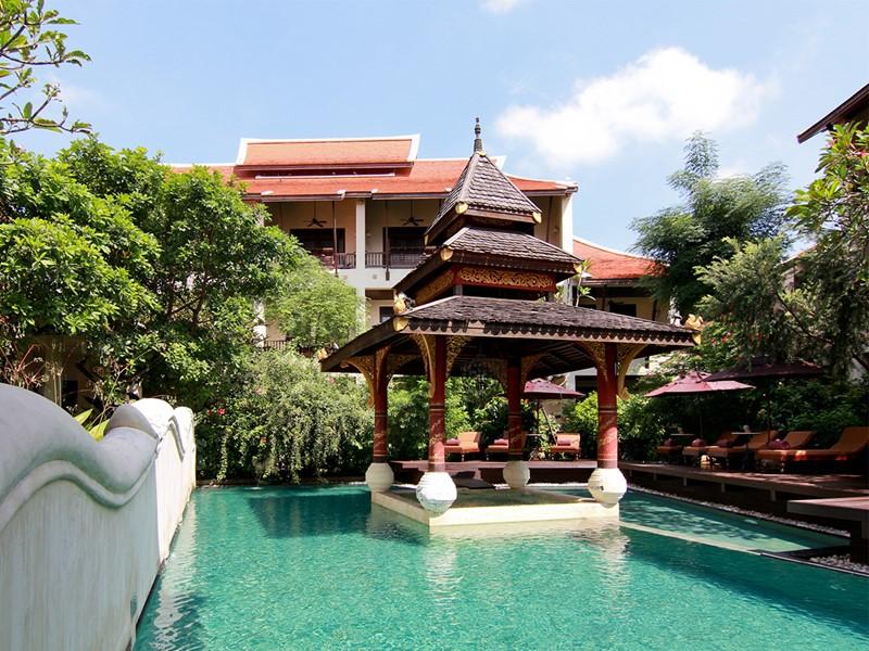 La piscine du Puripunn situé en Thailande
