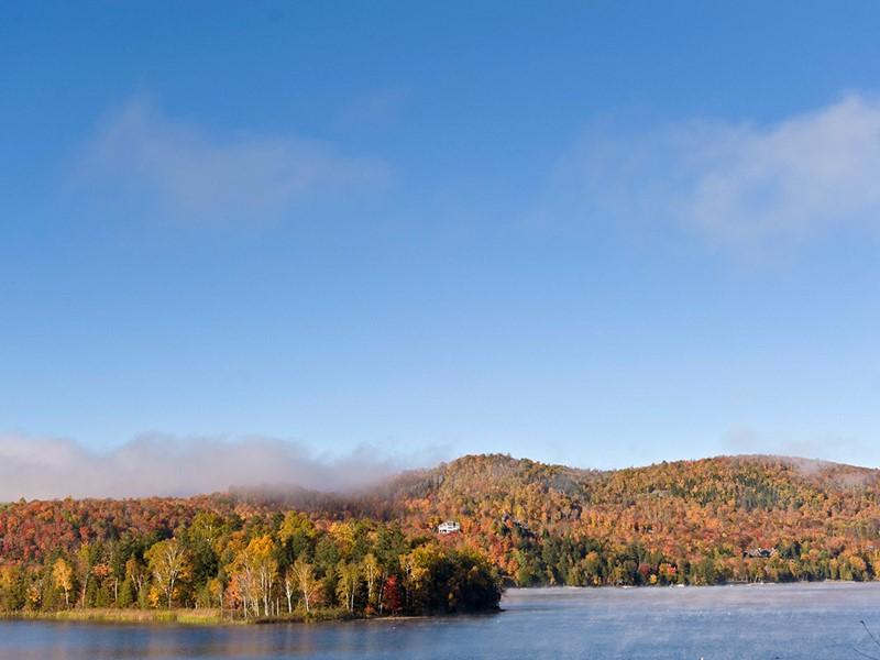 Découvrez les lacs et forêts typiques du Québec