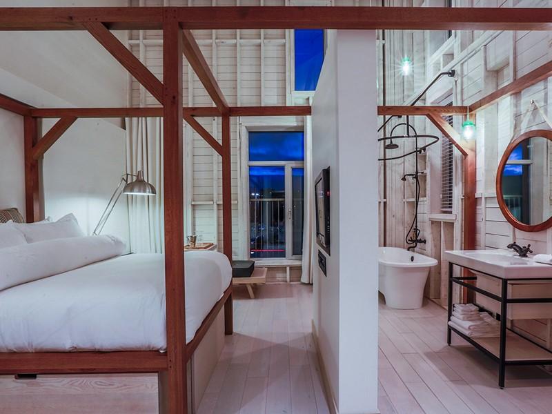 Un hôtel design et contemporain en pleine nature