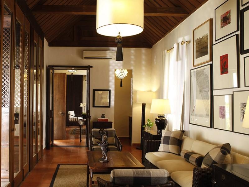 Suite de l'hôtel Rachamankha à Chiang Mai