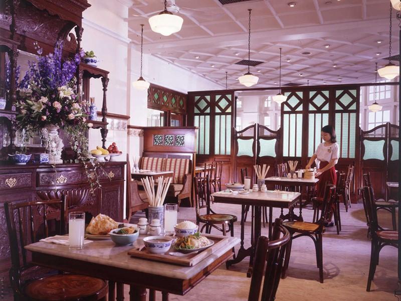 Restaurant Empire Cafe de l'hôtel Raffles Singapore