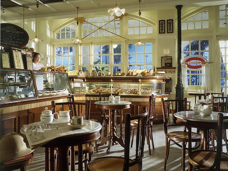 Patisserie Ah Teng de l'hôtel Raffles à Singapour