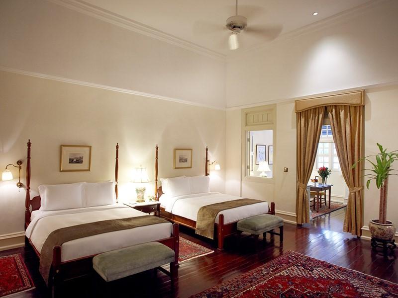 Courtyard Suite de l'hôtel Raffles à Singapour