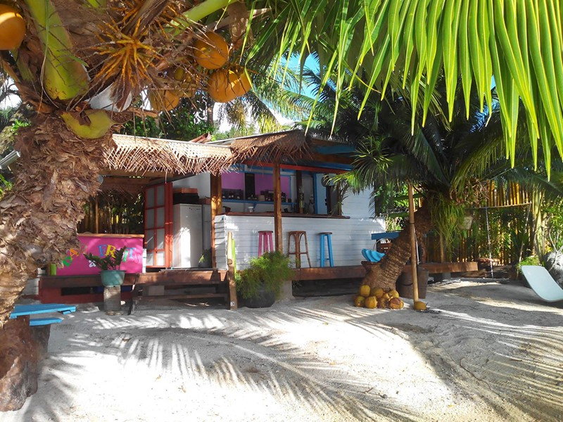 Le restaurant de plage Blue Beach Lodge