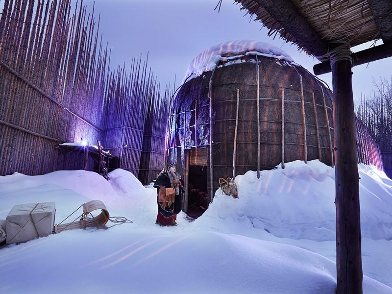 Découvrez le village amérindien d'Huron-Wendake