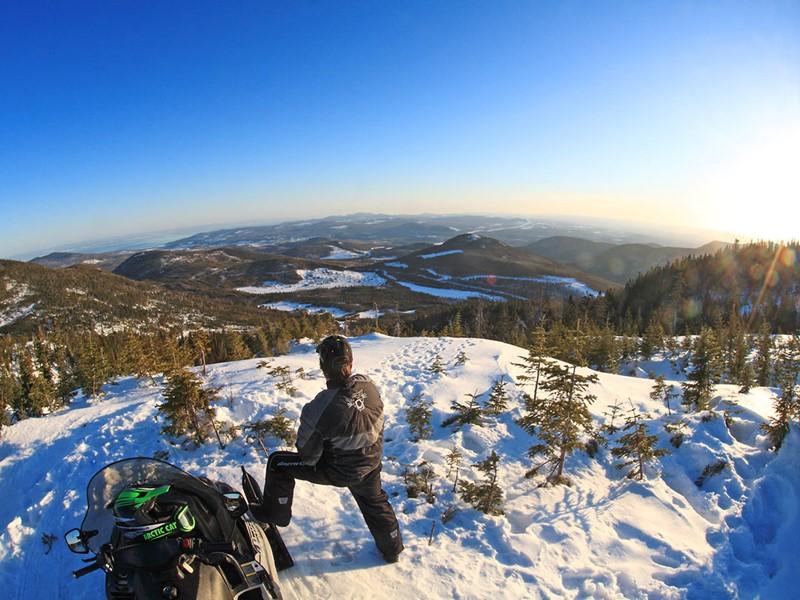 Admirez les superbes paysages de la région de Charlevoix