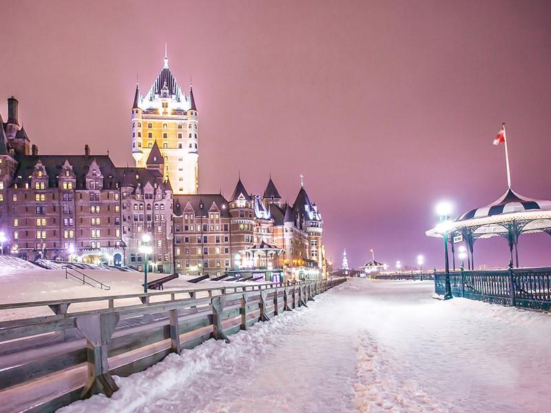 Québec, des lieux emblématiques chargés d'histoire