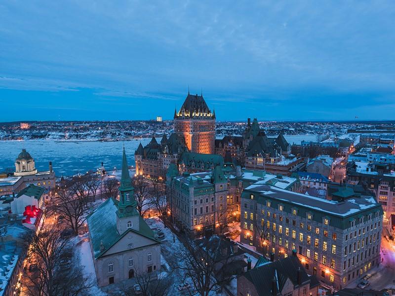 Flânez dans le vieux Québec et découvrez cette ville fortifiée