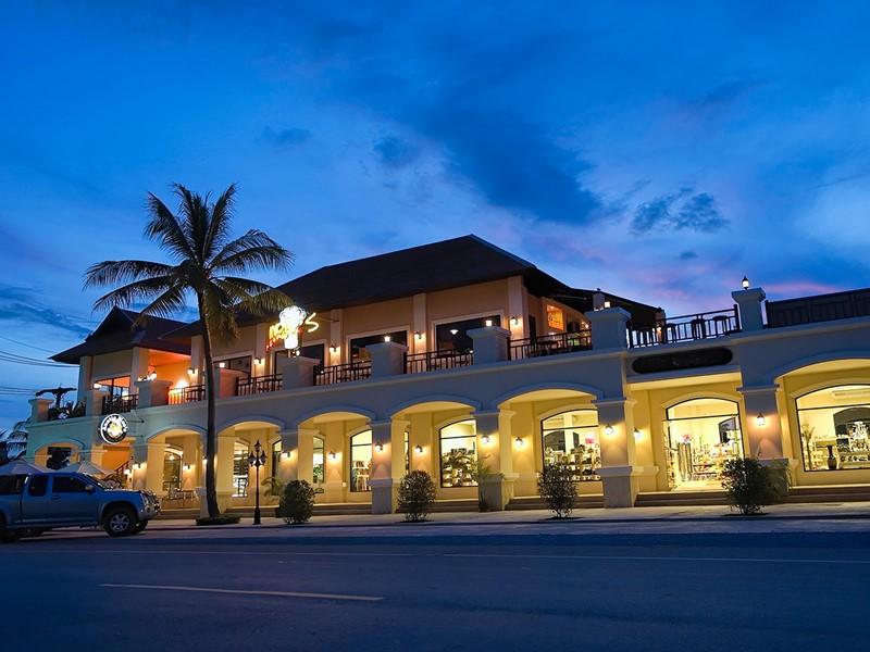 Restaurant Auntie Mae's de l'hôtel Rawi Warin Resort
