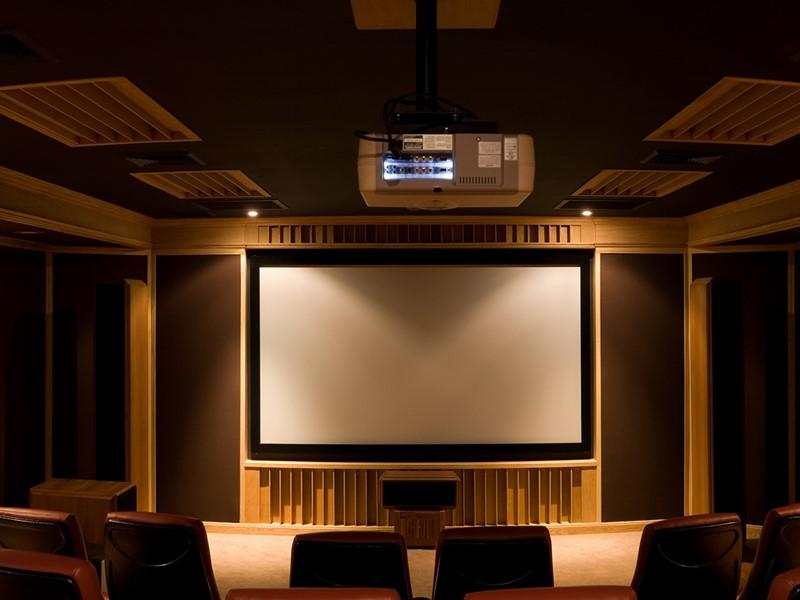 Salle de projection de l'hôtel Rawi Warin Resort & Spa