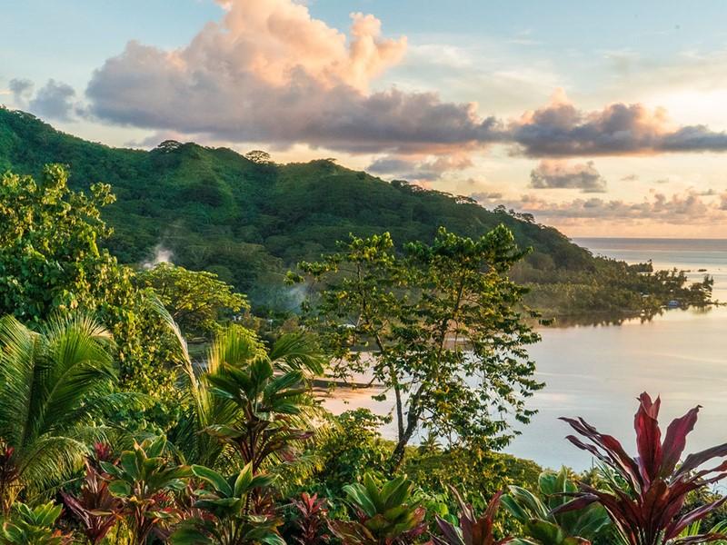 Raiatea est considérée comme le berceau de la culture polynésienne.