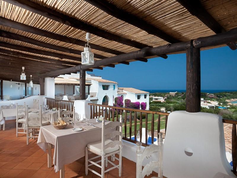 Restaurant Romazzino de l'hôtel Romazzino