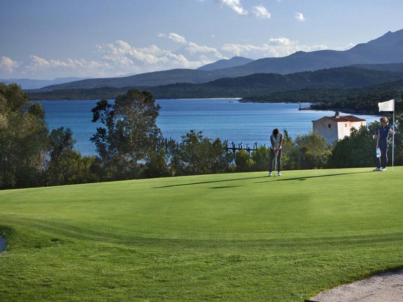 Parcours de golf à proximité de l'hôtel Romazzino