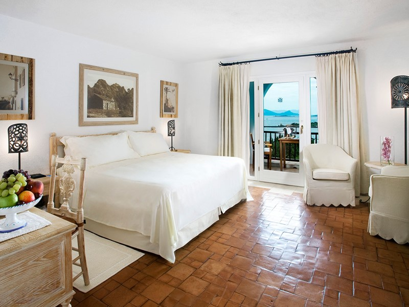 Premium Room de l'hôtel Romazzino en Sardaigne