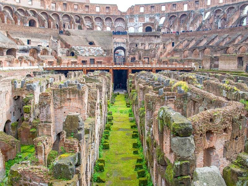 Promenade culturelle au Colisée