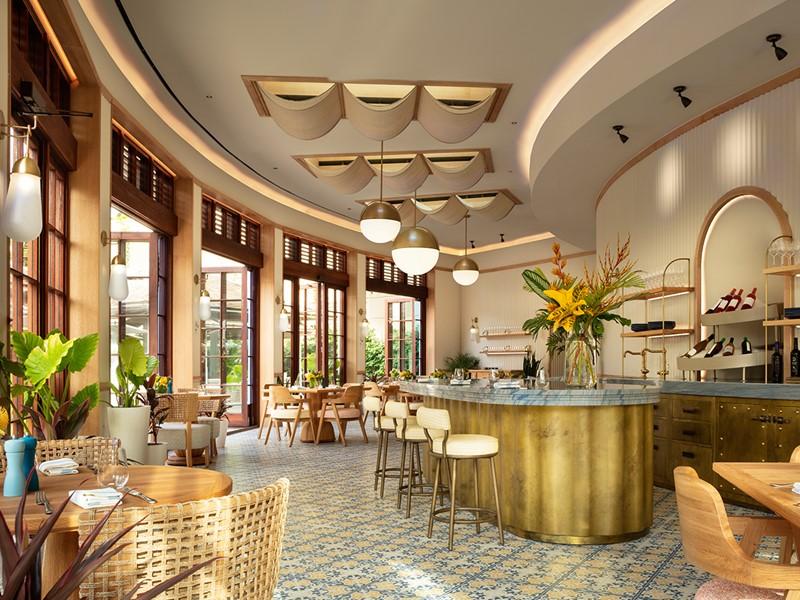 Le restaurant Costa