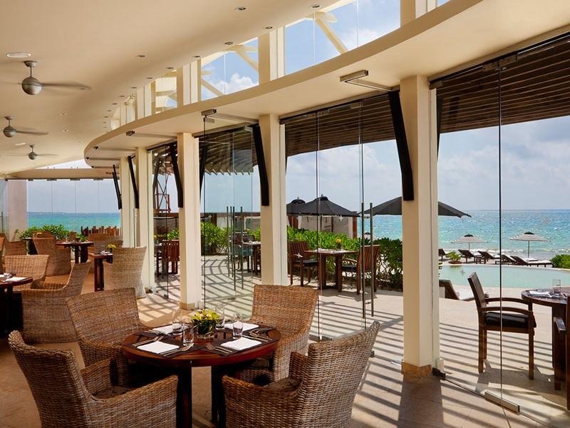 Le restaurant Punta Bonita de l'hôtel Rosewood Mayakoba