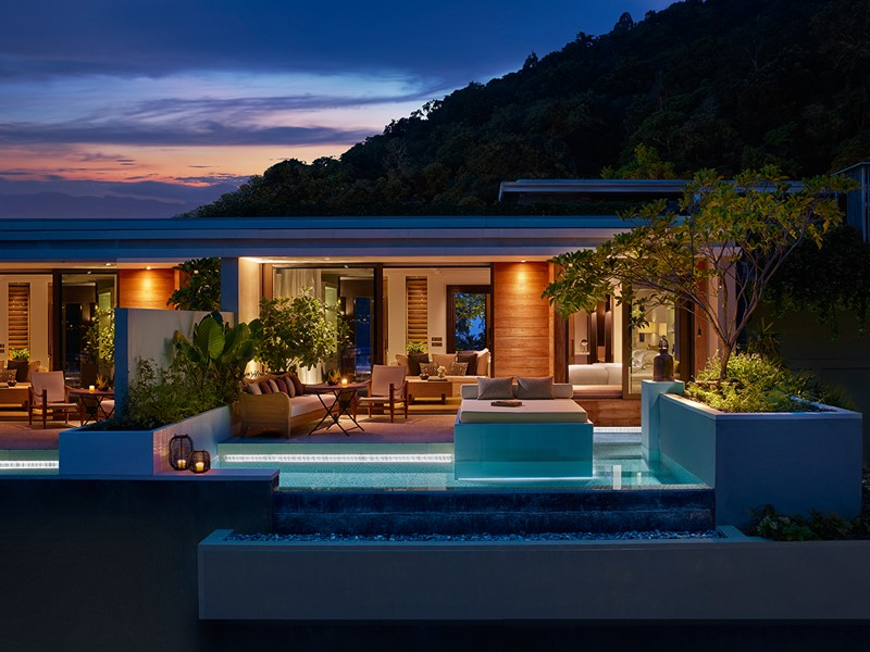 La Ocean View Pool Pavilion