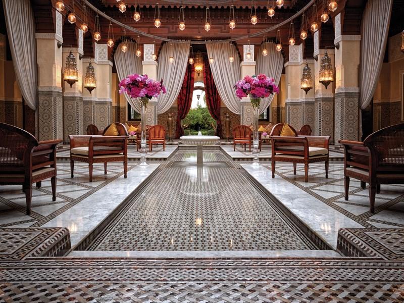 Un établissement au charme marocain