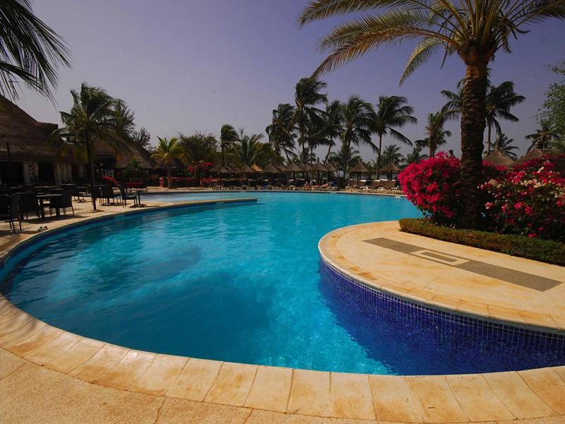 La piscine de l'hôtel Royam en Afrique