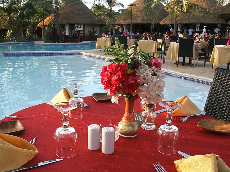 Le restaurant de l'hôtel 4 étoiles Royam