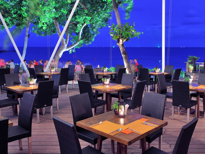 Zea Restaurant de l'hôtel Sai Kaew Beach Resort