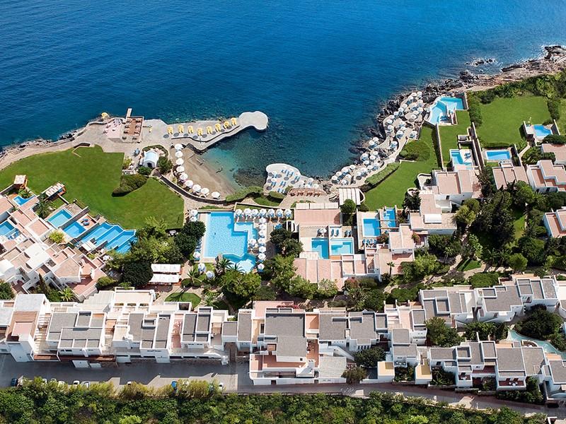 Vue aérienne du St. Nicolas Bay Resort Hotel & Villas