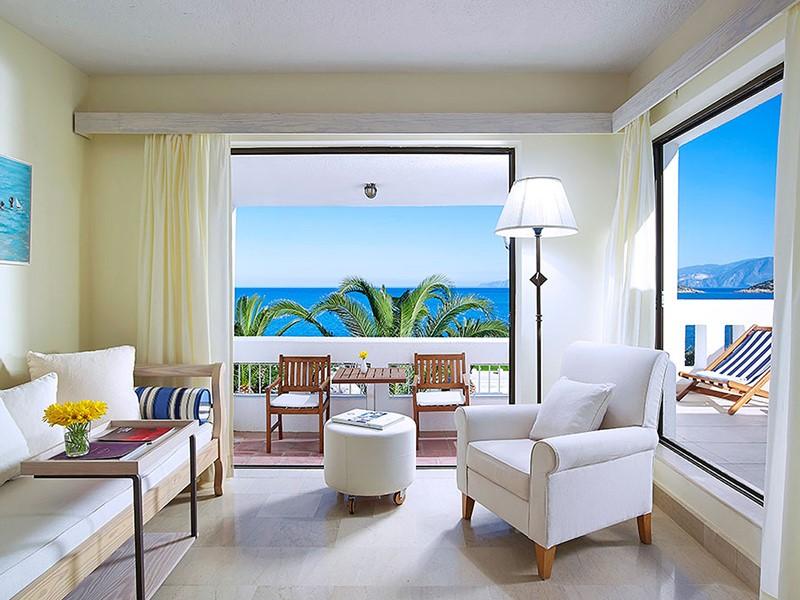Deluxe Junior Suite Sea View du St. Nicolas Bay à Crète