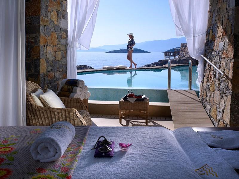 Poseidon Spa de l'hôtel St. Nicolas Bay à Crète