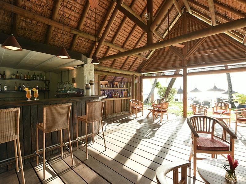 Le K Bar de l'hôtel Le Sakoa à Trou aux Biches