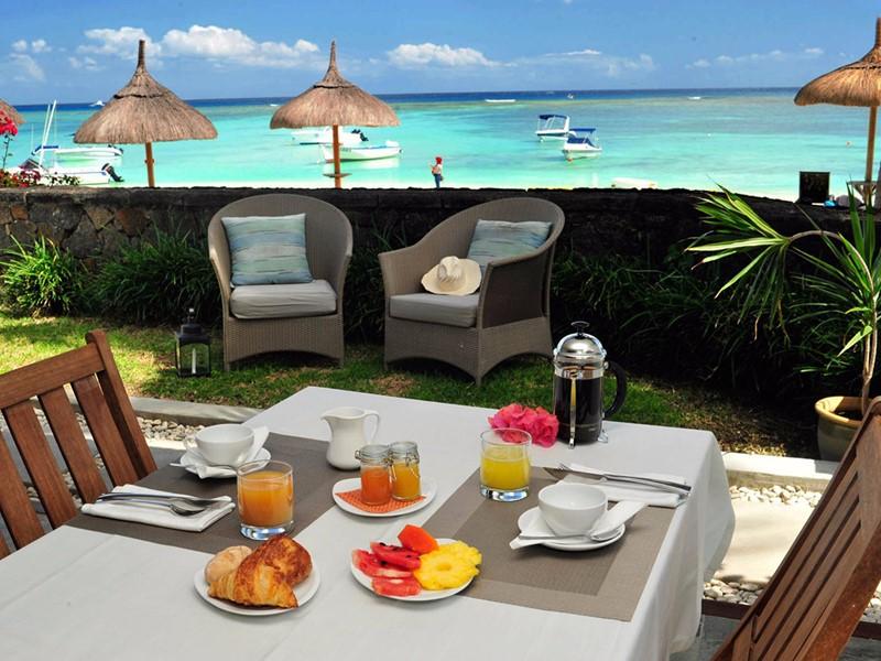 Dégustez votre petit déjeuner face à l'océan au Sakoa