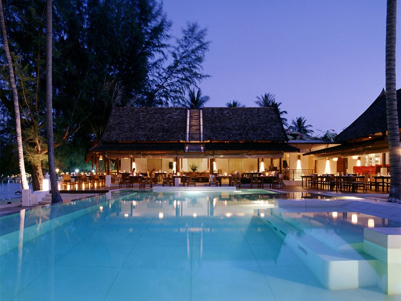La piscine du Sala Samui Resort situé en Thailande