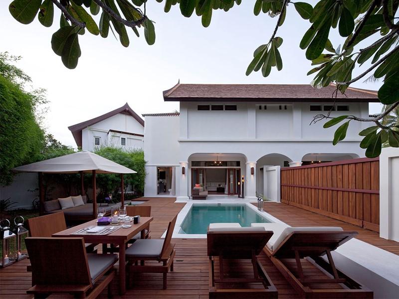 1 Bedroom Duplex Pool Villa Suite de l'hôtel Sala Resort & Spa