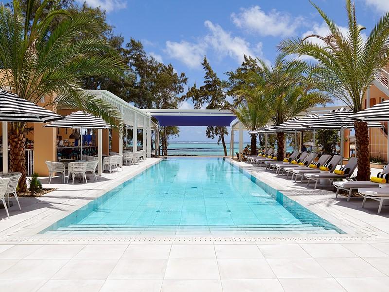 La superbe piscine du SALT of Palmar Mauritius