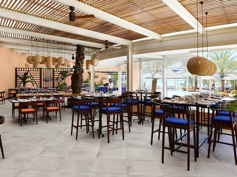 Le restaurant du SALT of Palmar à l'île Maurice