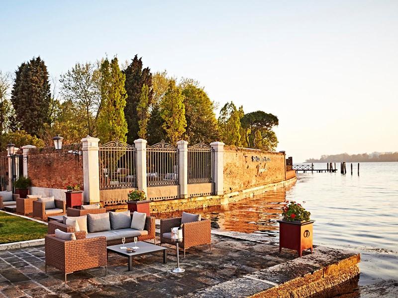 La terrasse du restaurant Acquerello