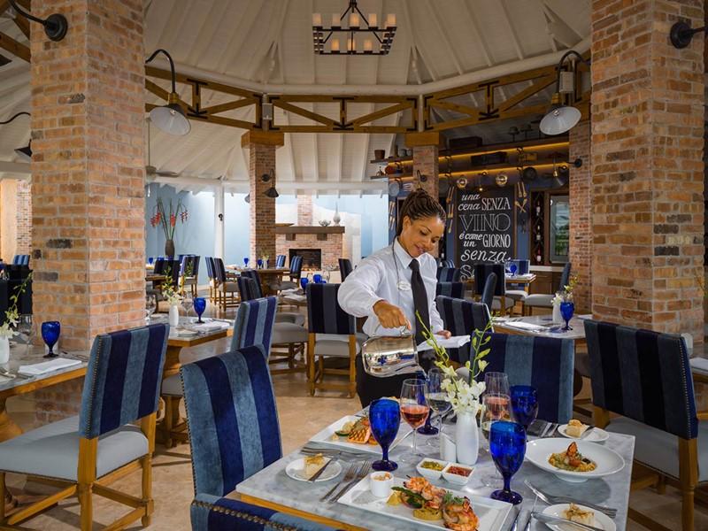 Le restaurant italien Portofino
